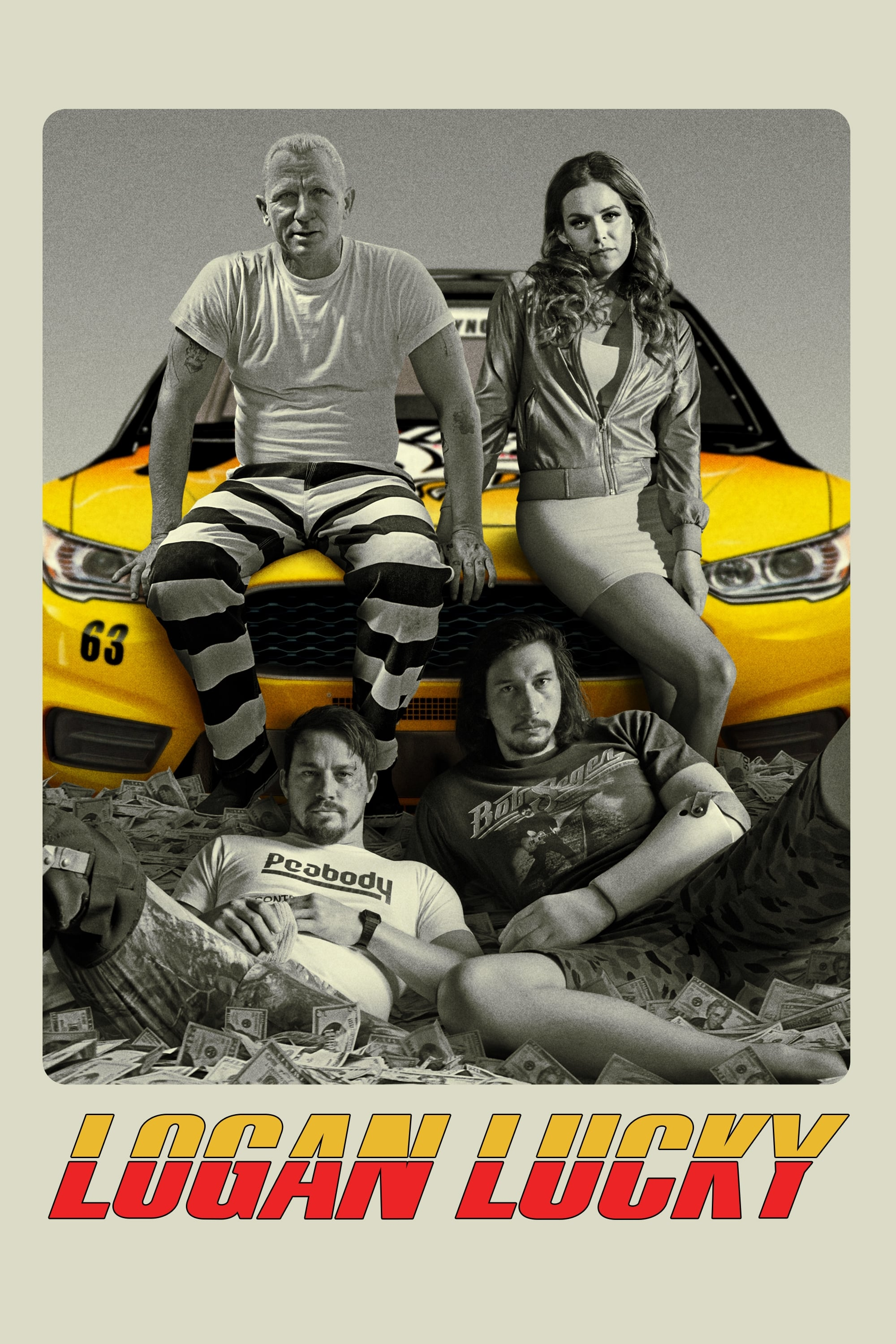 Poster and image movie Film Logan Lucky: Cursa norocului - Logan Lucky - Logan Lucky -  2017