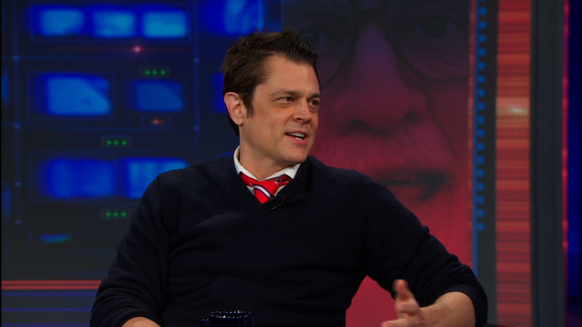 The Daily Show with Trevor Noah Season 19 :Episode 55  Johnny Knoxville