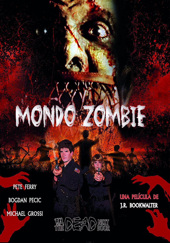 Póster Mondo zombie