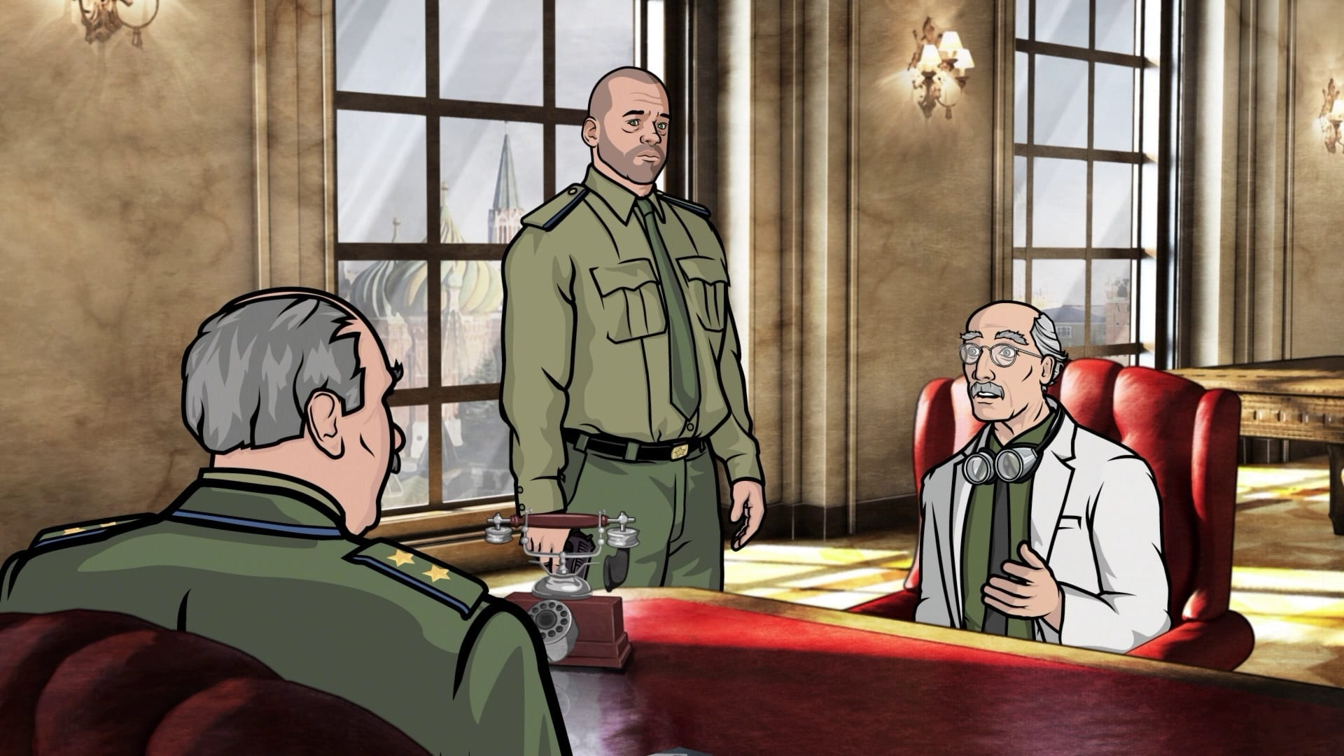 Archer Season 1 :Episode 10  Dial M for Mother