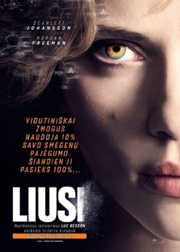 Liusi / Lucy (2014) žiūrėti online