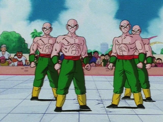 Dragon Ball Season 1 :Episode 141  Four Tenshinhans