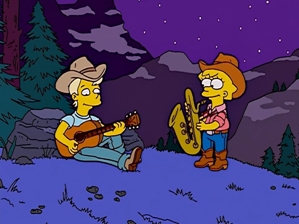 The Simpsons Season 14 :Episode 18  Dude, Where's My Ranch?