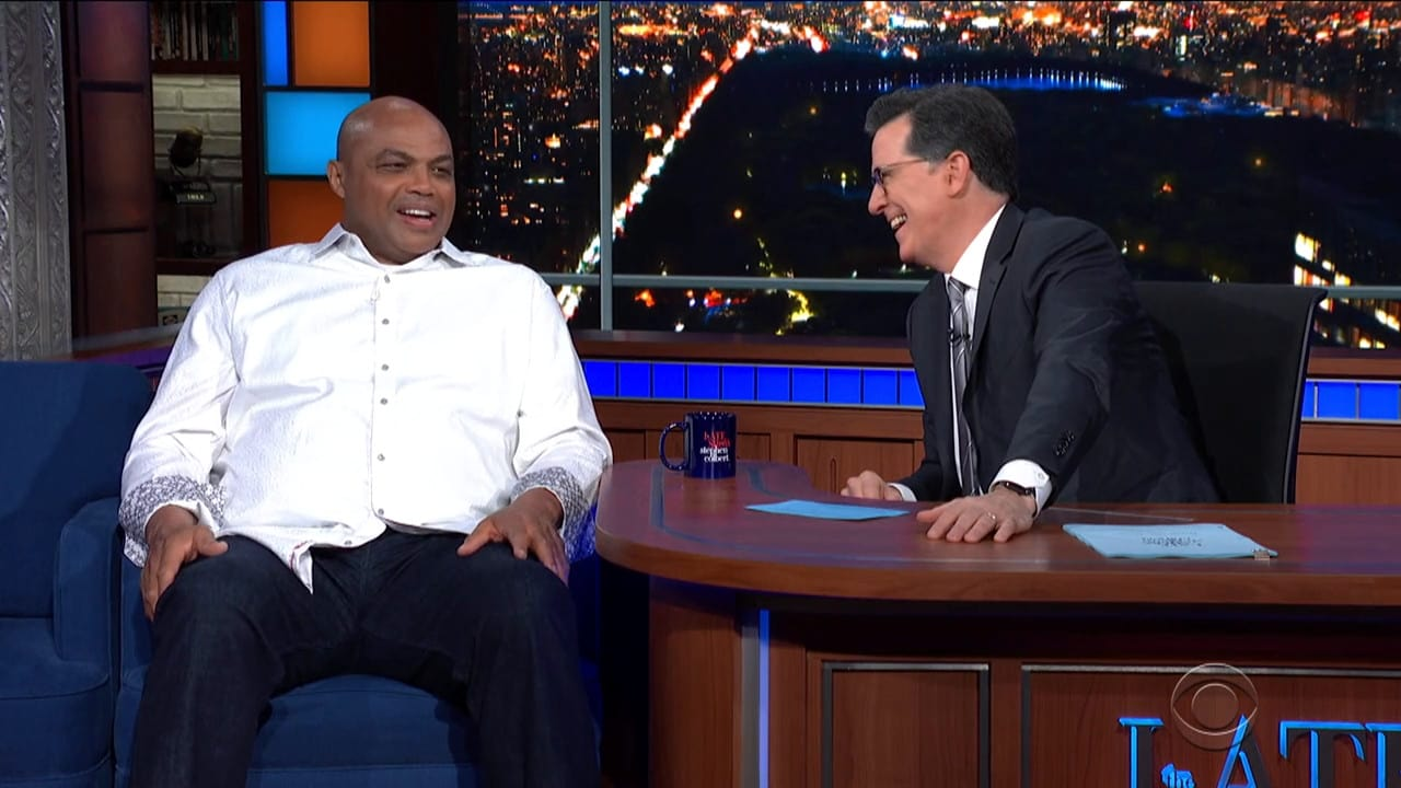 The Late Show with Stephen Colbert Season 5 :Episode 102  Charles Barkley / Peter Sarsgaard