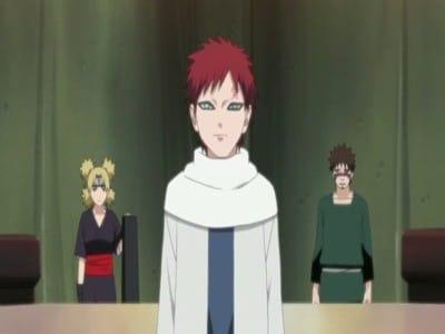 Naruto Shippūden Season 9 :Episode 182  Gaara's Bond