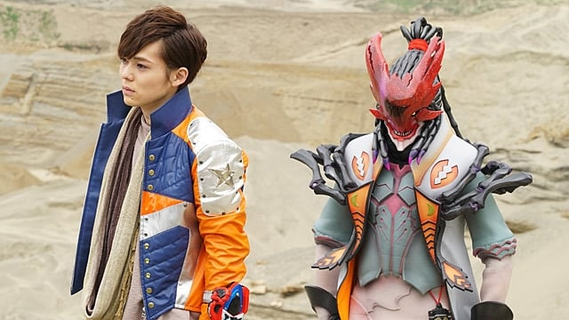 Super Sentai Season 41 :Episode 16  Stinger is Reunited with His Brother