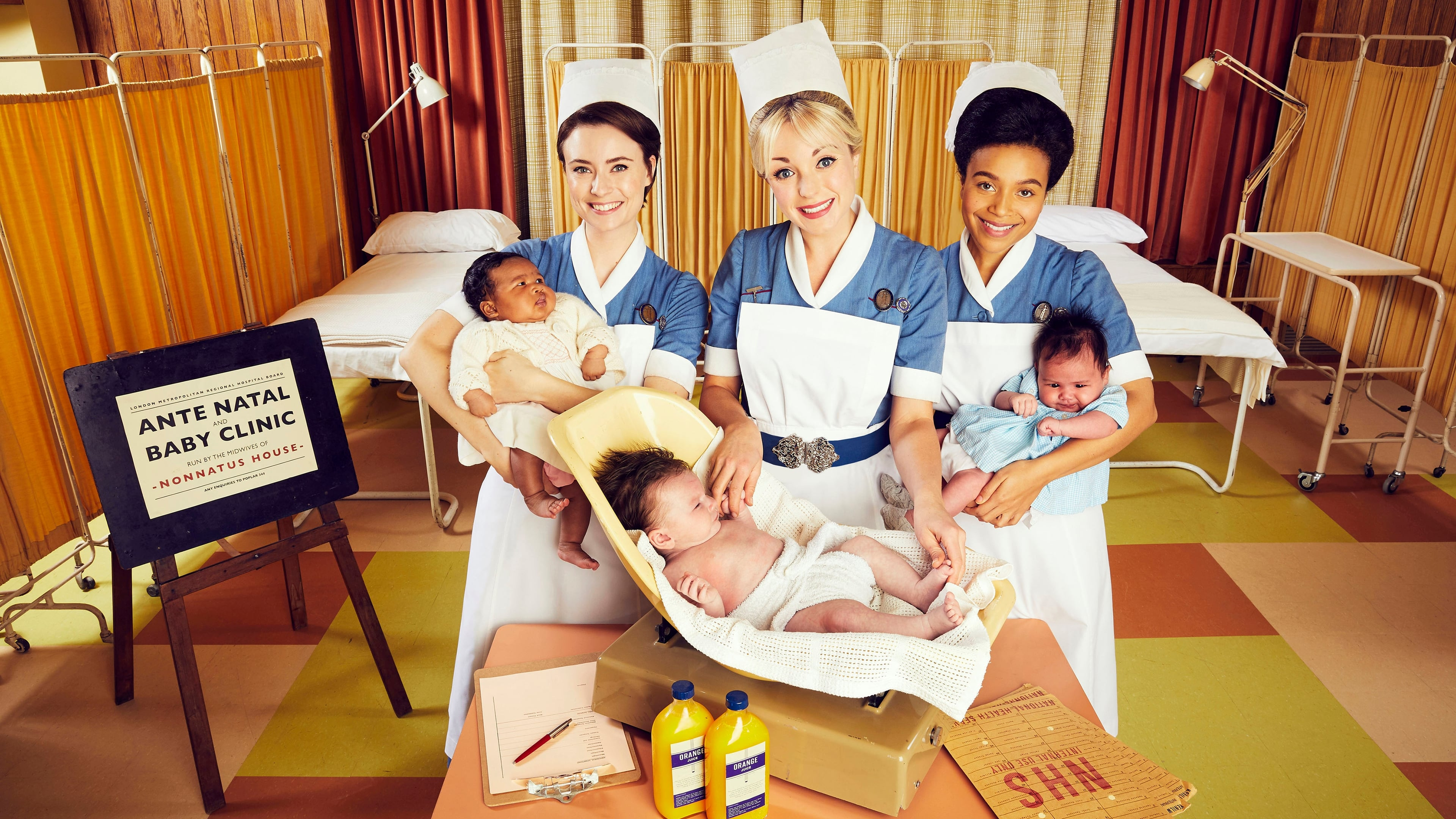 Call the Midwife renewed with two seasons