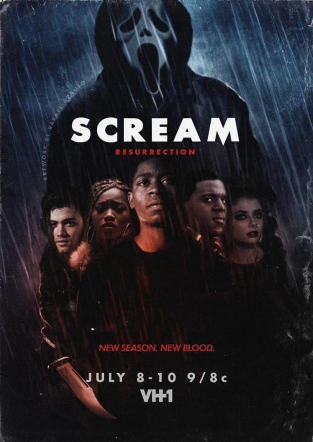Scream 3ª Temporada poster, capa, cartaz