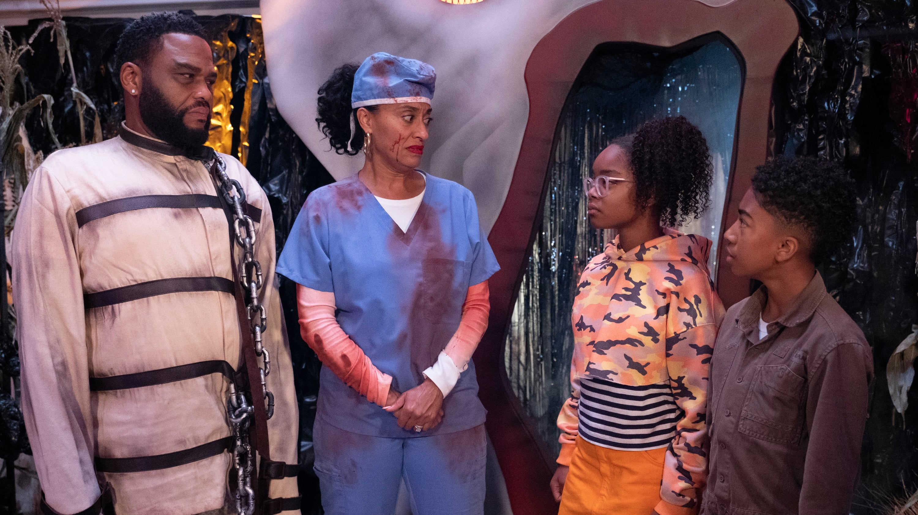 black-ish Season 5 :Episode 3  Scarred for Life
