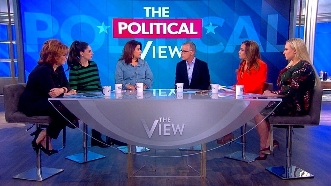 The View Season 22 :Episode 105  Andrew McCabe