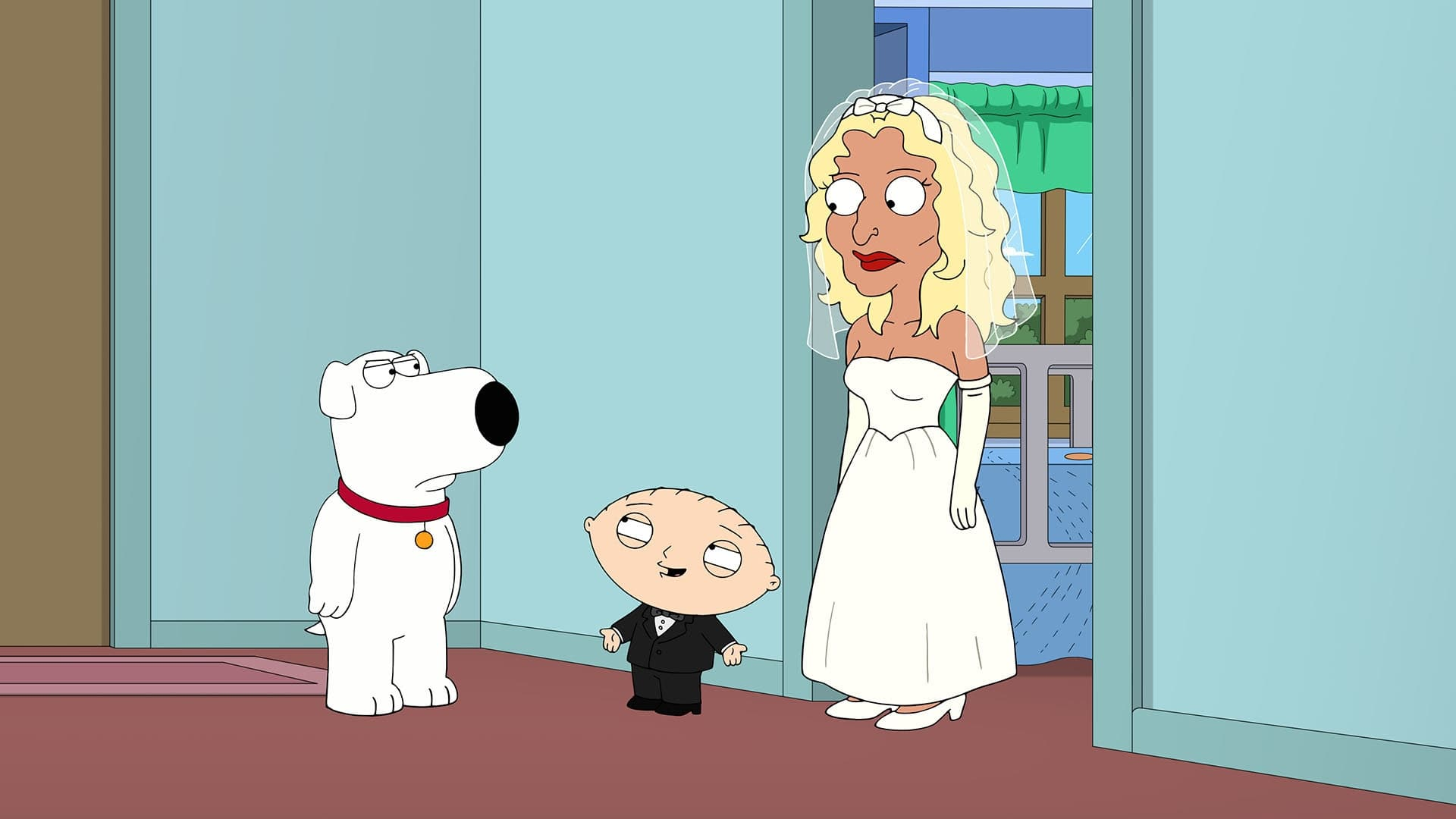 Family Guy Season 19 :Episode 14  The Marrying Kind