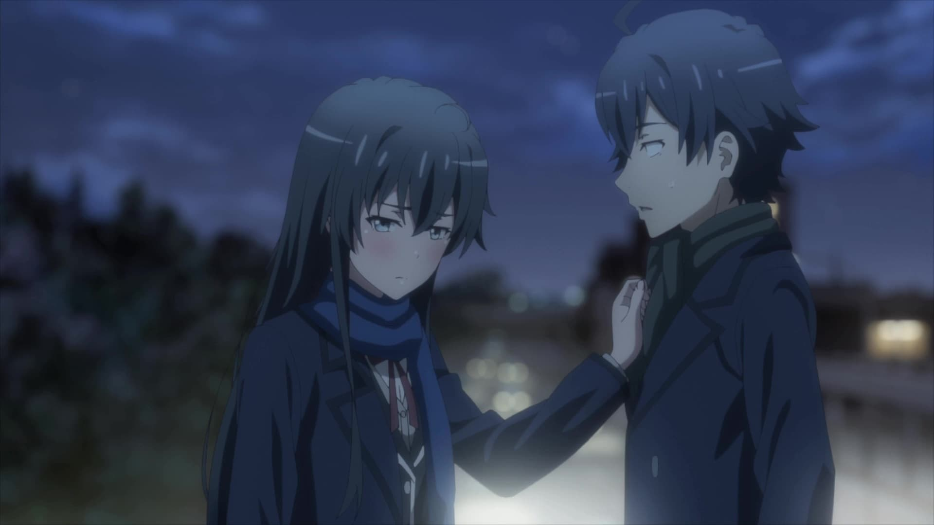 My Teen Romantic Comedy SNAFU Season 3 :Episode 11  Only a Heated Touch Truly Conveys the Sentiment