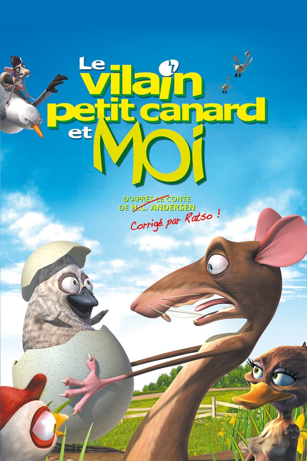 Le-Vilain-Petit-Canard-Et-Moi-The-Ugly-Duckling-And-Me-2006-