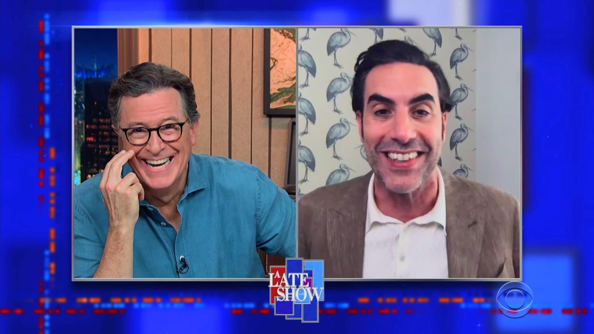 The Late Show with Stephen Colbert Season 6 :Episode 24  Sacha Baron Cohen, Jeff Tweedy