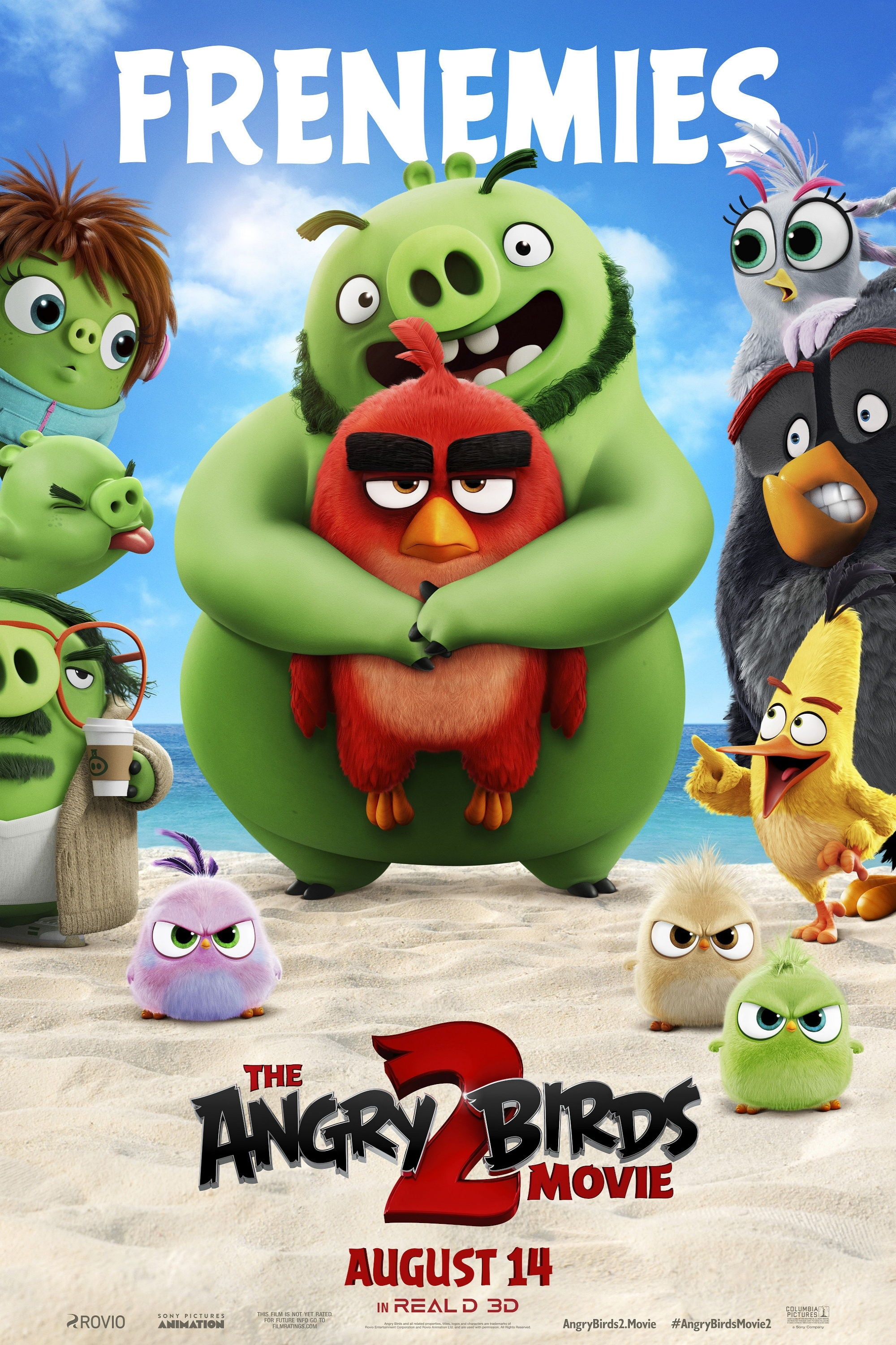 Poster and image movie Film The Angry Birds Movie 2 - Piktieji pauksciai. Filmas 2 -  2019