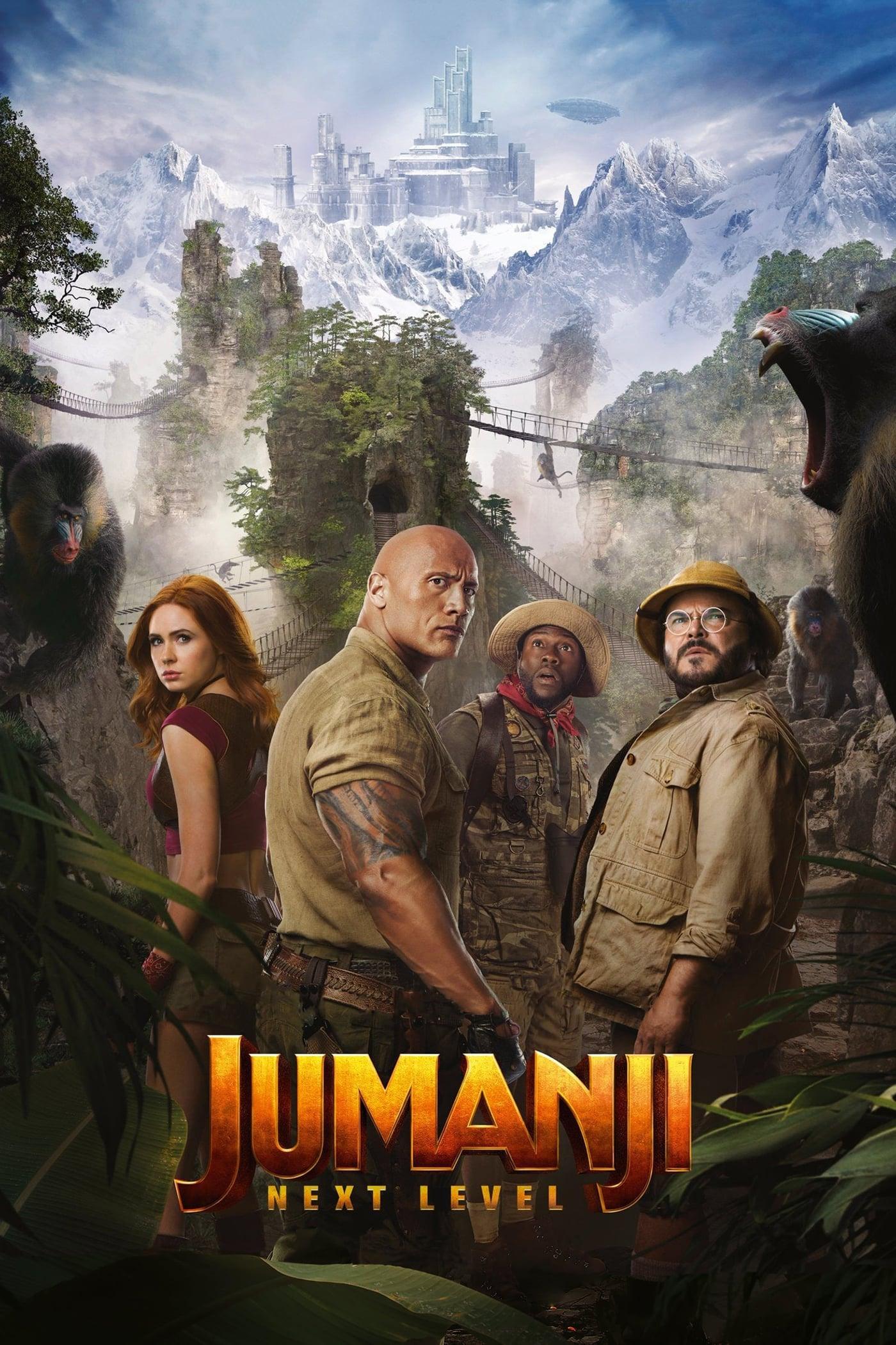 Jumanji : Bienvenue dans la Jungle 2 streaming sur libertyvf