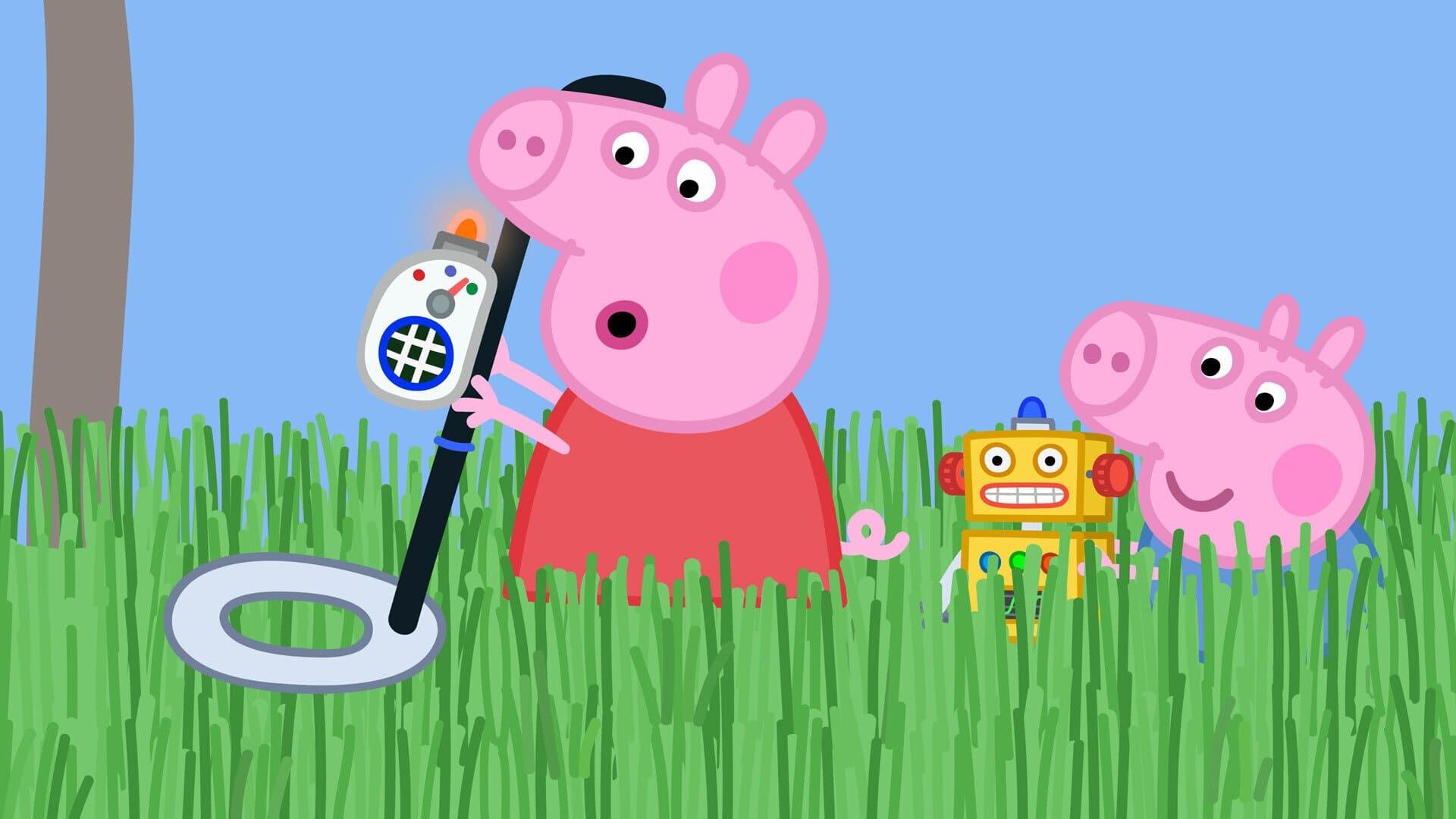 Peppa Pig Season 6 :Episode 12  Grandpa Pig's Metal Detector