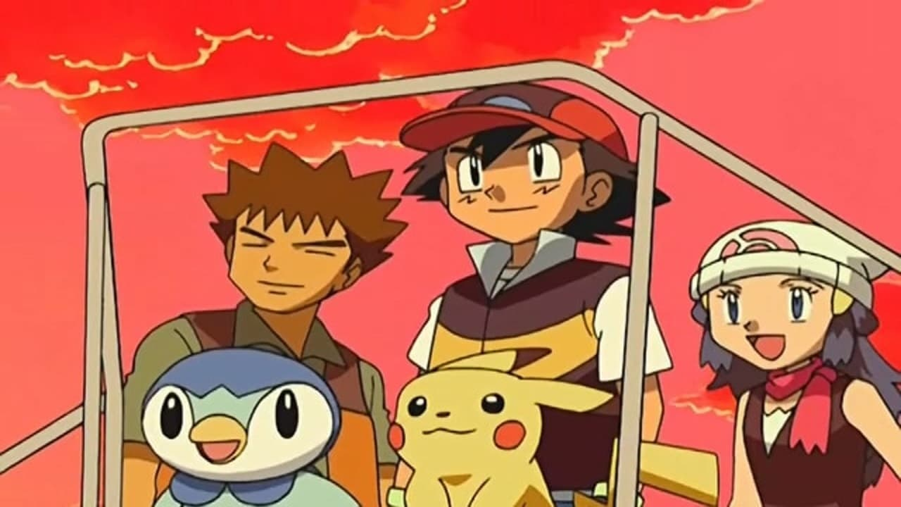 Pokémon Season 12 :Episode 16  Mysterious Creatures: Pocket Monsters!