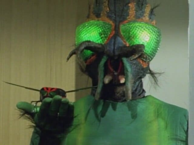 Kamen Rider Season 1 :Episode 42  The Devil's Messenger, Mysterious Fly Man