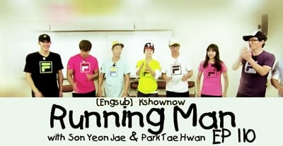 Running Man Season 1 :Episode 110  Target Hunting