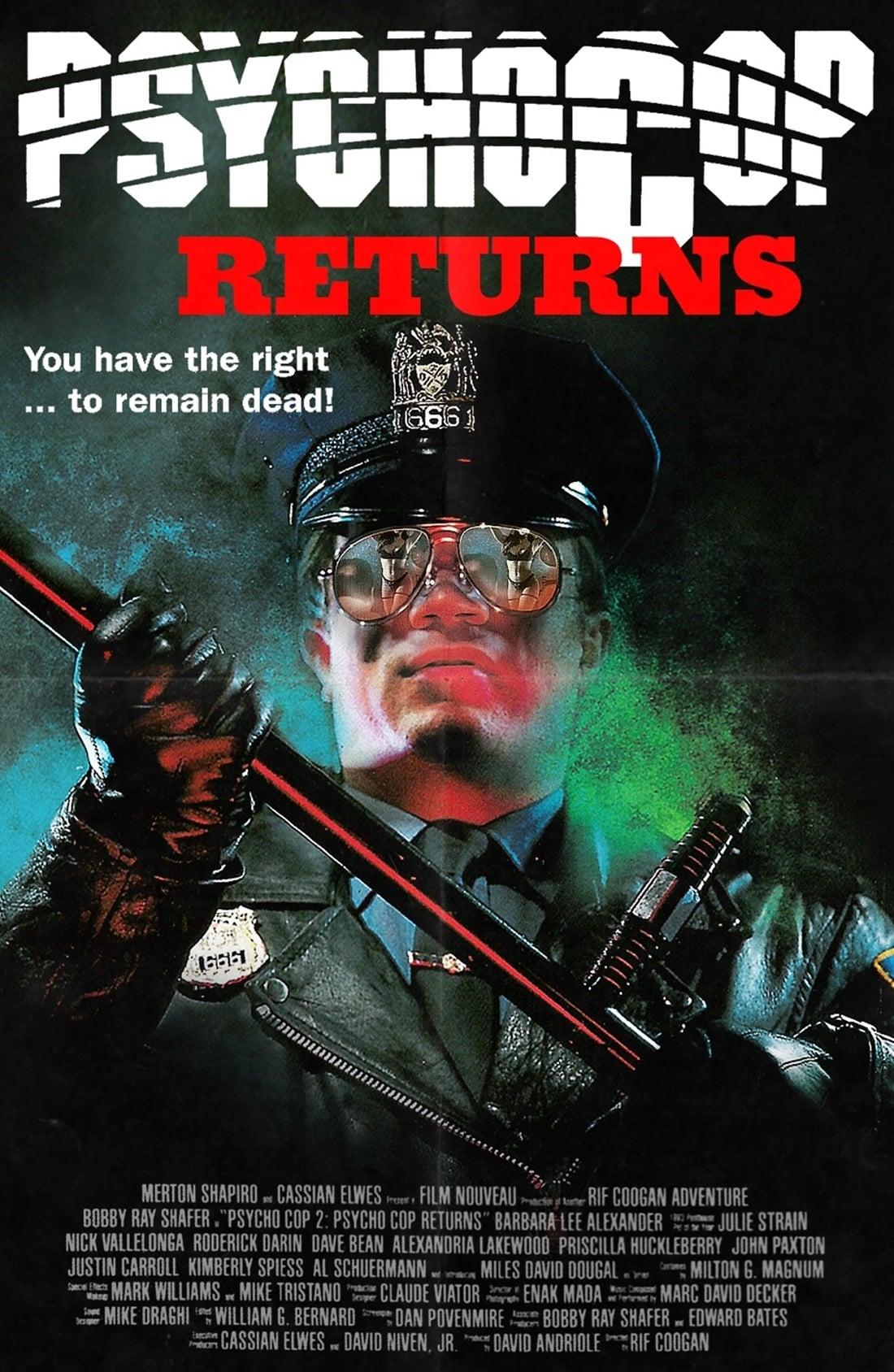Psycho Cop Returns (1993)