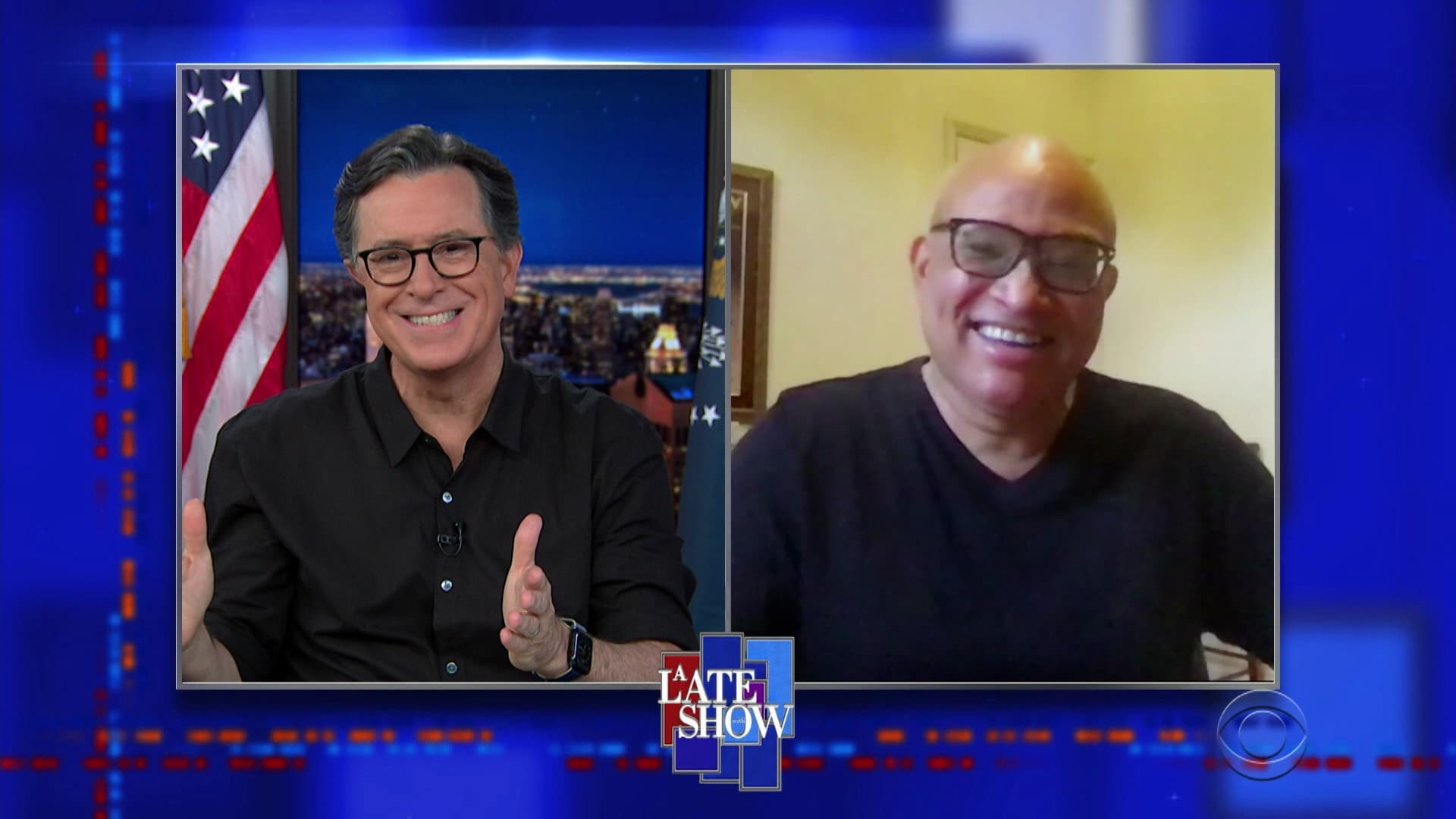 The Late Show with Stephen Colbert Season 6 :Episode 31  Larry Wilmore, Laura Benanti