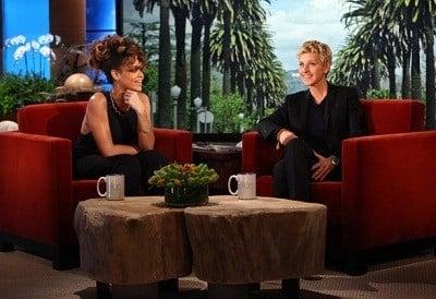 The Ellen DeGeneres Show Season 9 :Episode 50  Rihanna, Drew & Brittany Brees, Steve Spangler