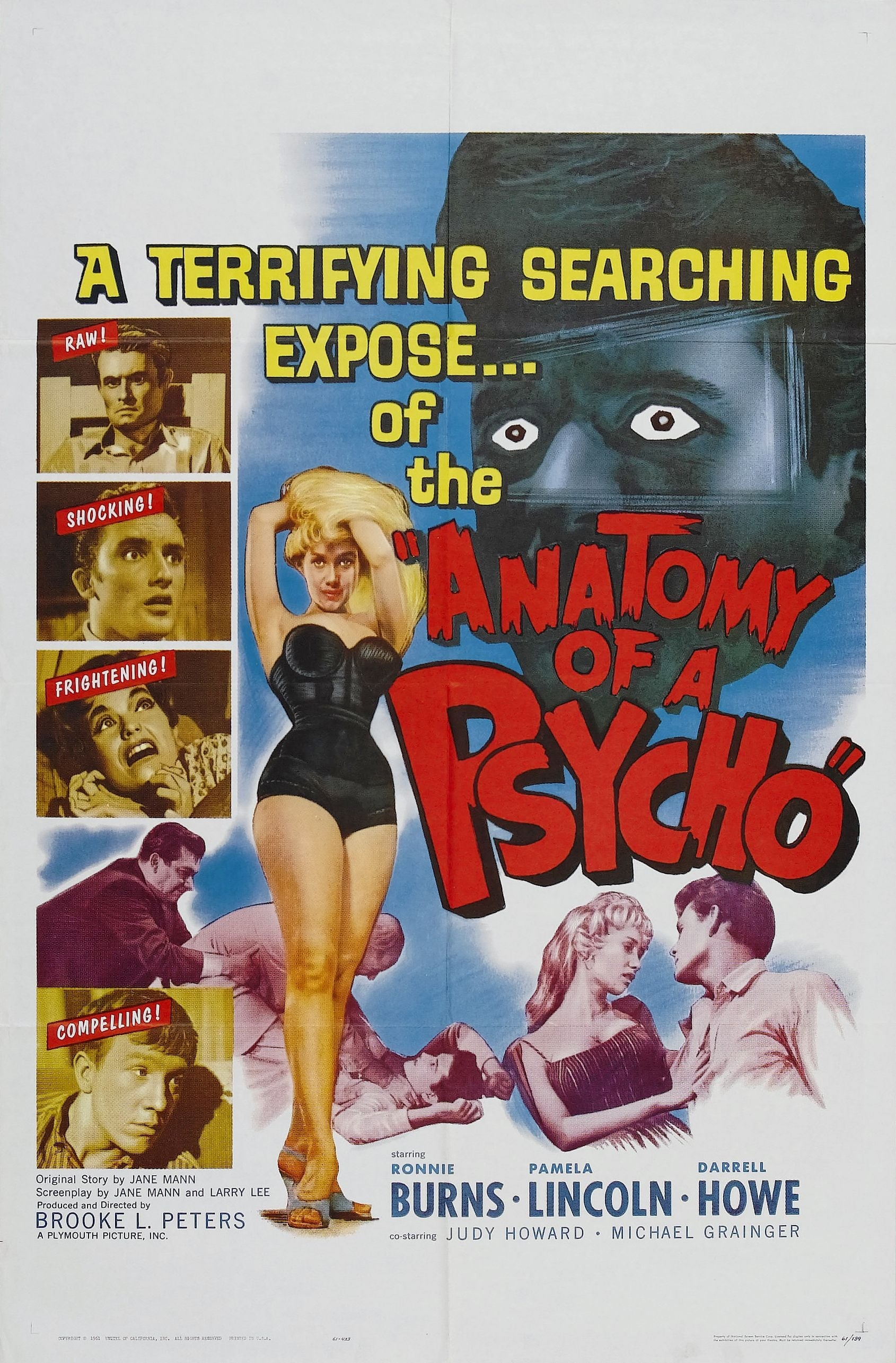 Anatomy of a Psycho on FREECABLE TV