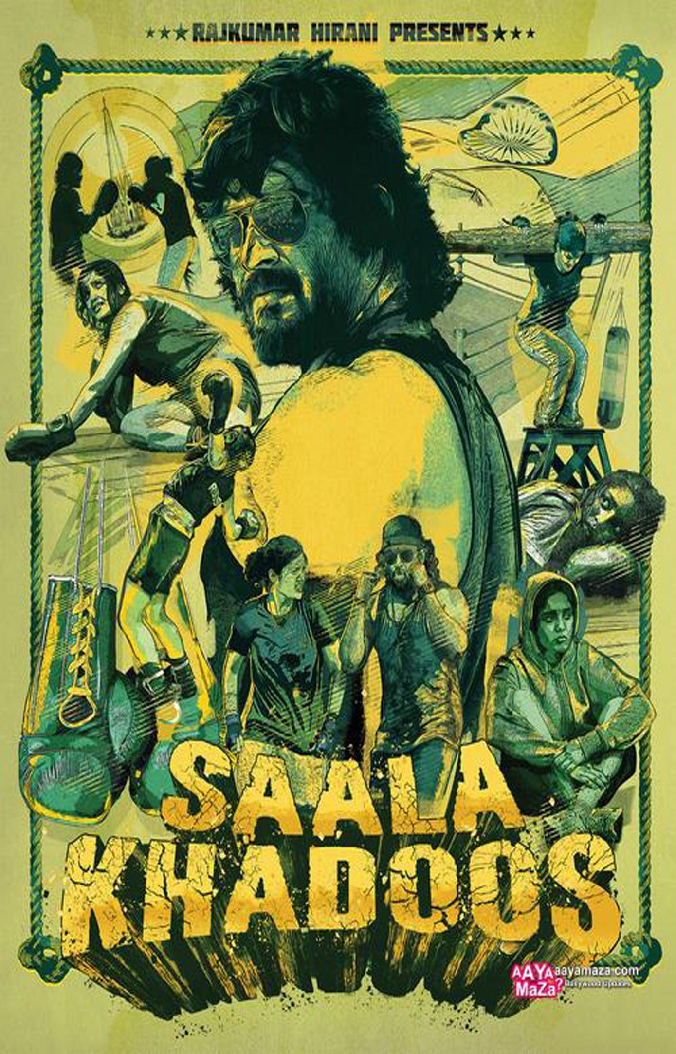 Ver Saala Khadoos Online HD Español (2016)