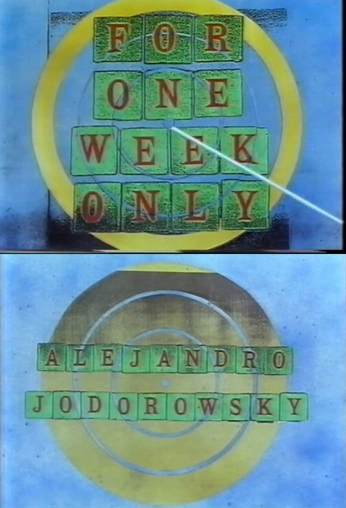 Jonathan Ross Presents for One Week Only: Alejandro Jodorowsky (1991)