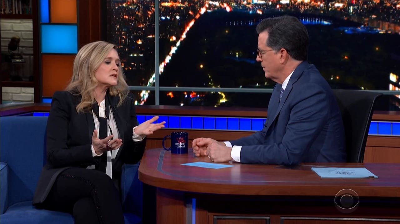 The Late Show with Stephen Colbert Season 5 :Episode 80  Samantha Bee / Michael Stipe