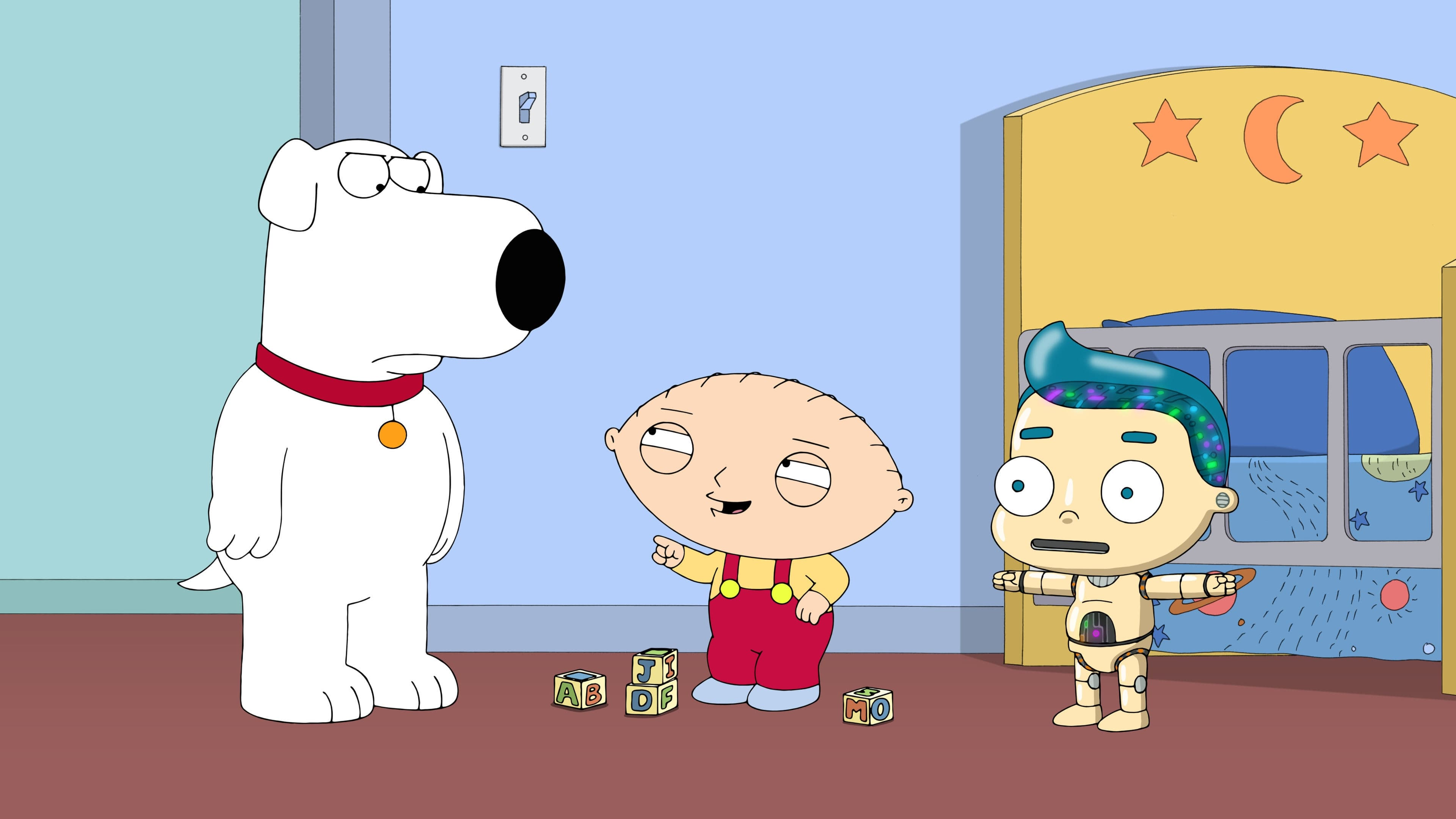 Family Guy Season 14 :Episode 3  Roboter-Freunde