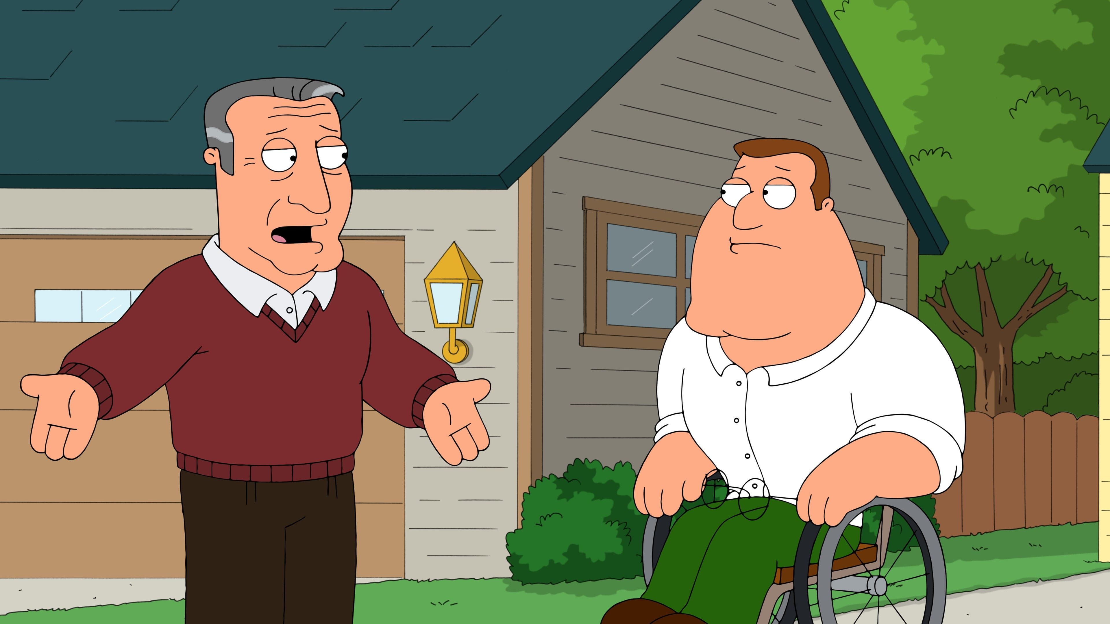 Family Guy Season 14 :Episode 2  Papa Has a Rollin' Son