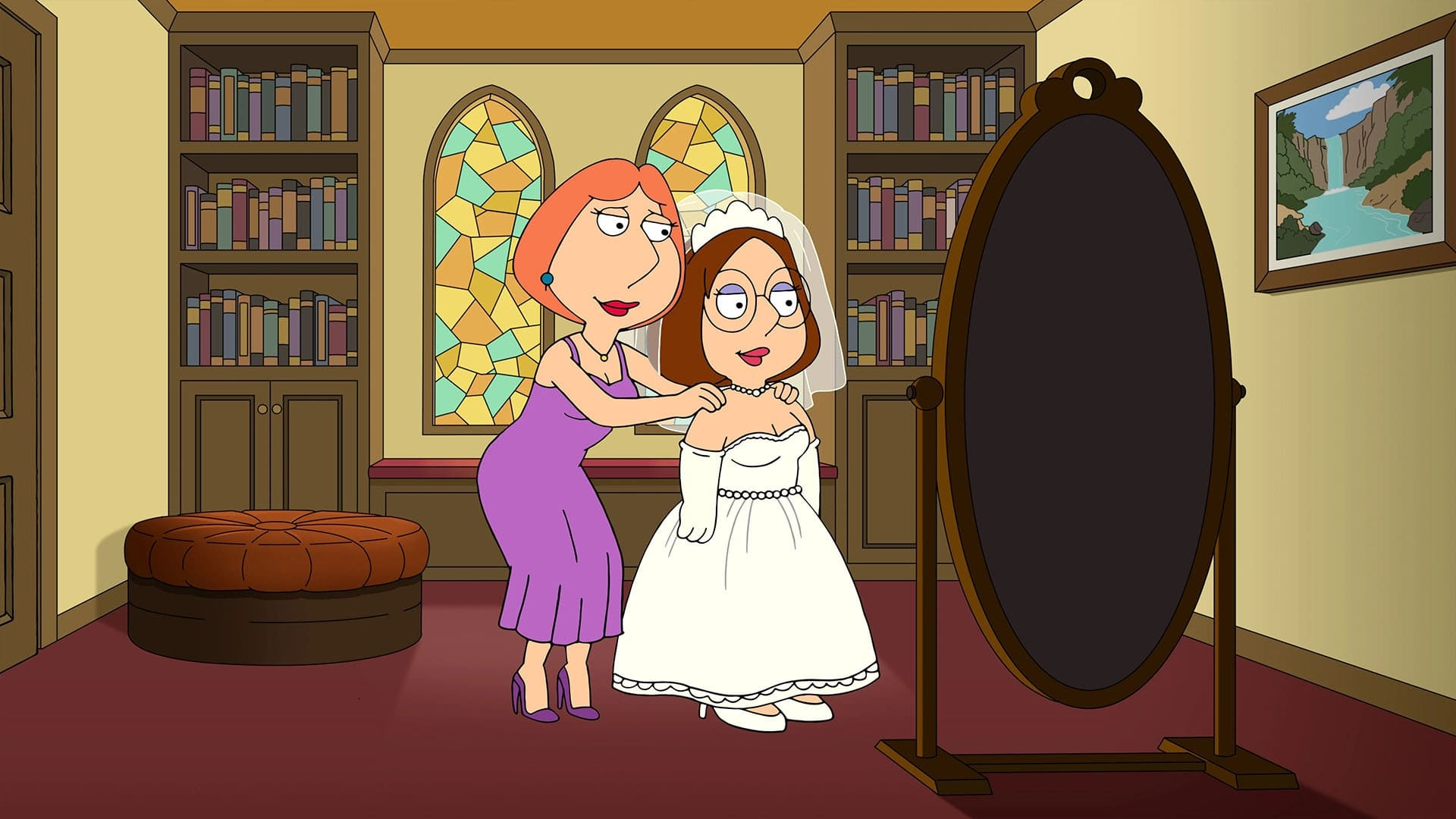 Family Guy Season 19 :Episode 6  Meg's Wedding
