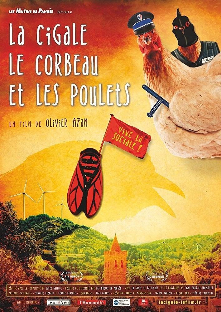 Ver La Cigale, le Corbeau et les Poulets Online HD Español ()