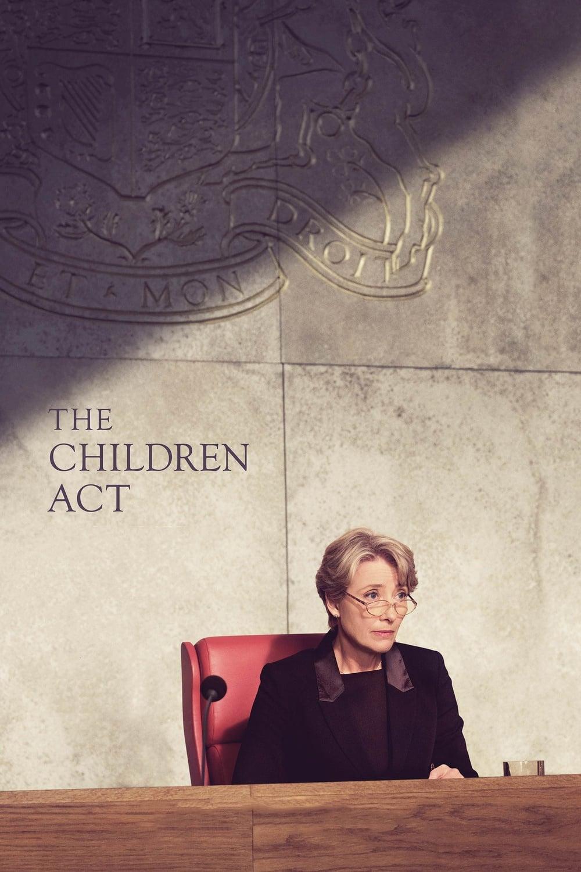 Póster La Ley del Menor