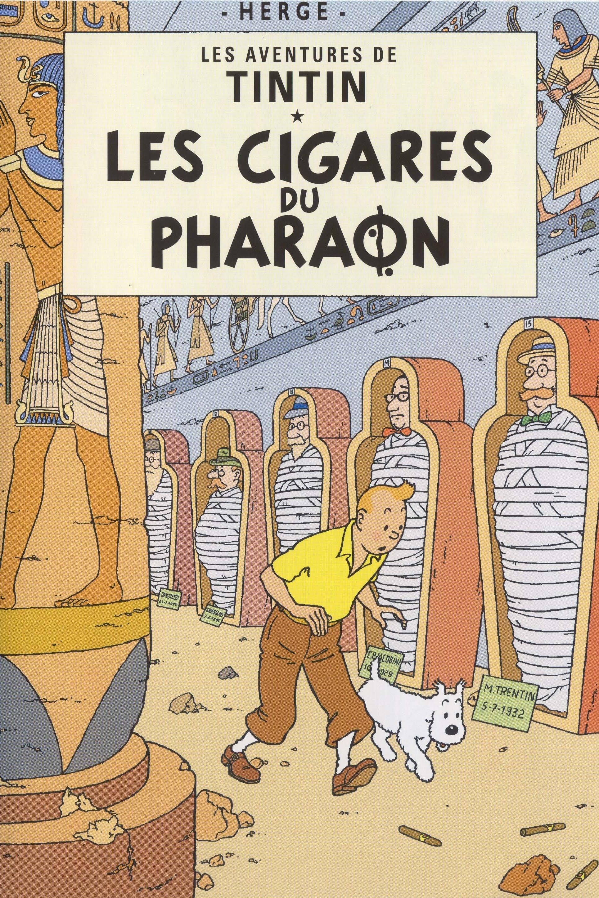 Les Aventures De Tintin 02  Les Cigares Du Pharaon - 1991