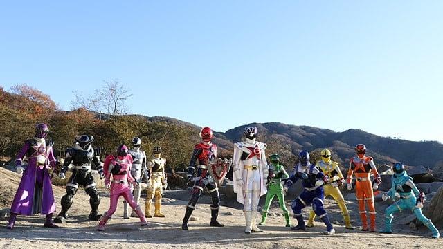 Super Sentai Season 41 :Episode 48  Yell Through the Galaxy! Alright, Lucky