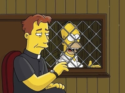 The Simpsons Season 16 :Episode 21  The Father, the Son and the Holy Guest Star