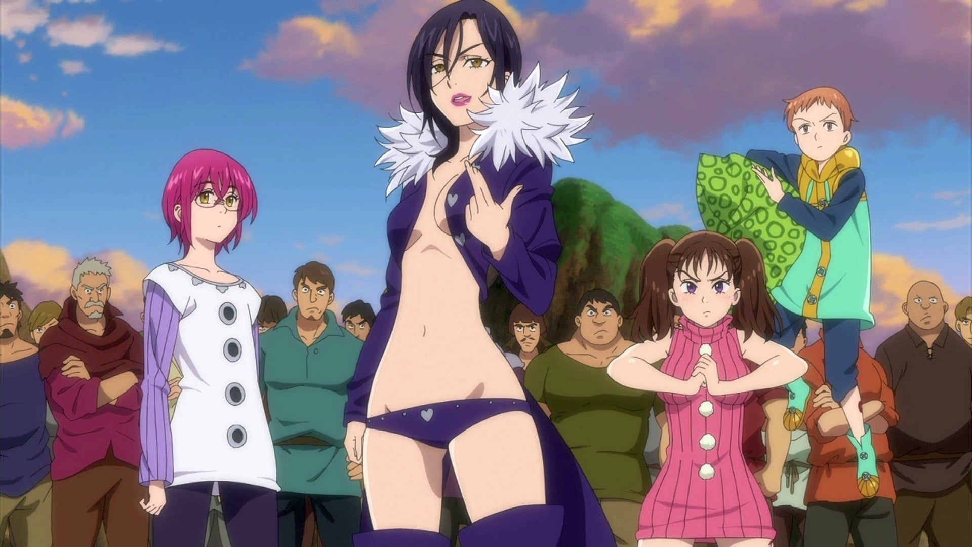 The Seven Deadly Sins Season 0 :Episode 5  Our Fighting Festival