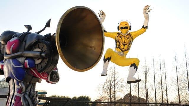 Super Sentai Season 40 :Episode 8  Melody of the Savanna