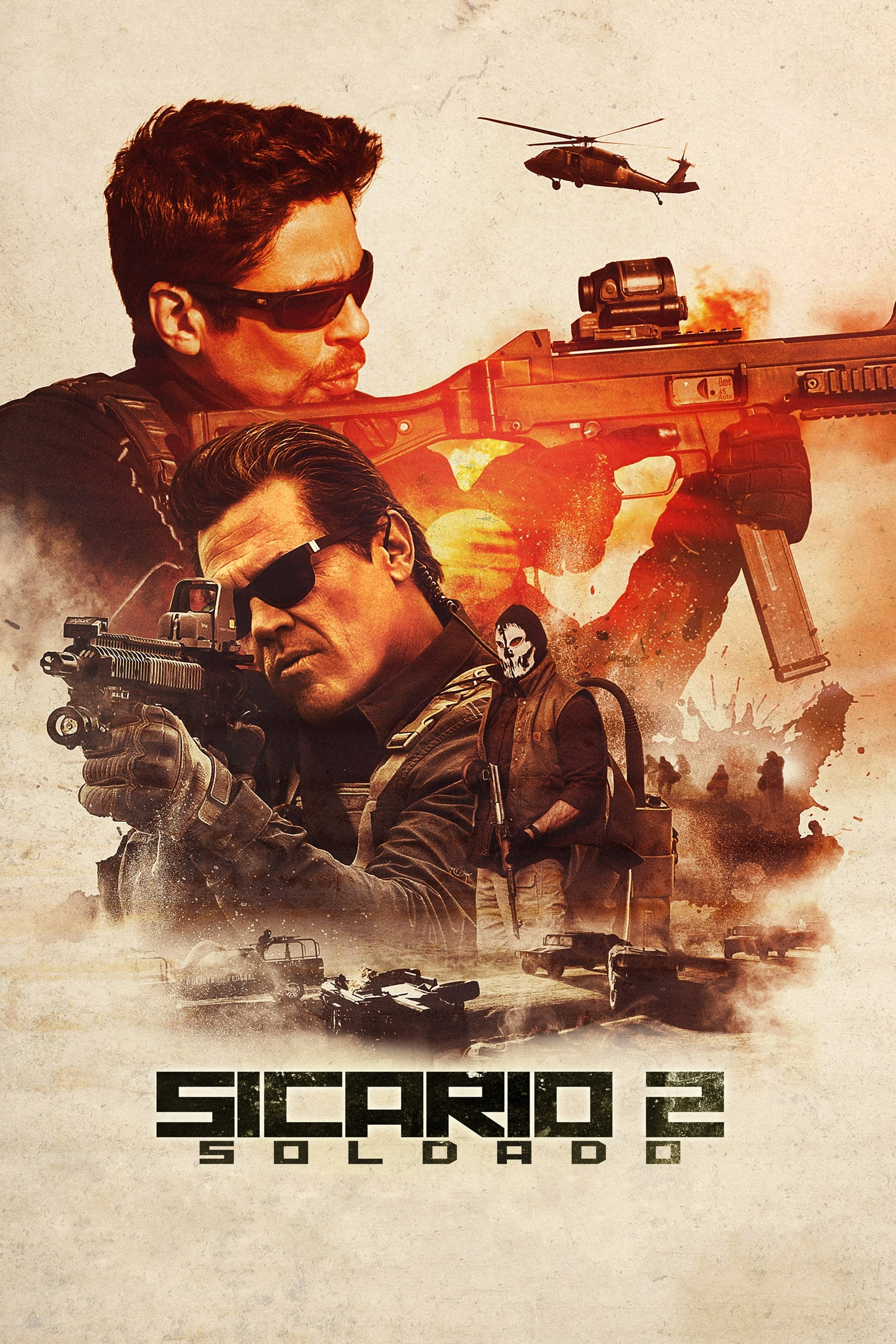 Poster and image movie Film Sicario 2: Soldado - Sicario: Day of the Soldado 2018