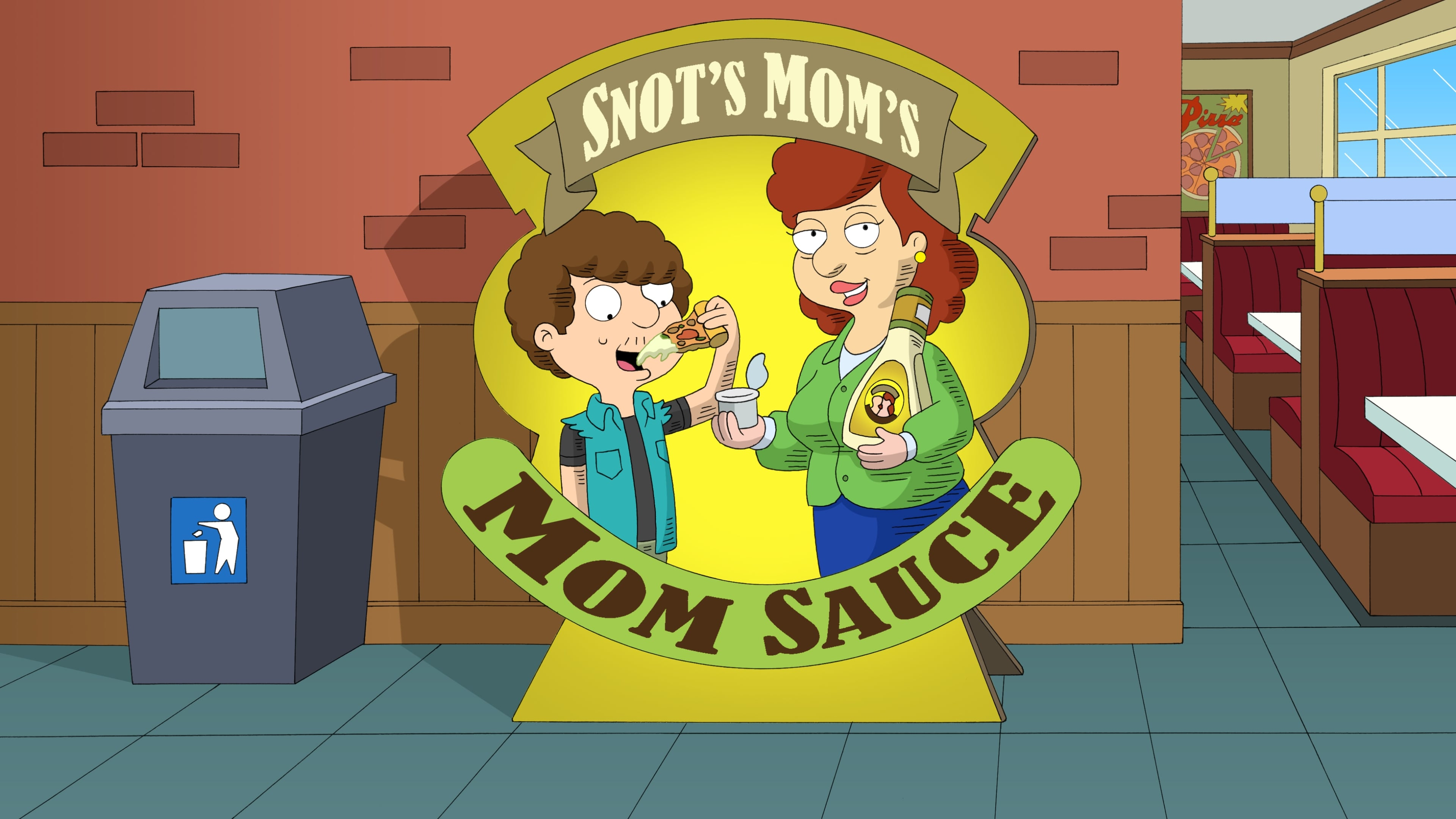 American Dad! Season 16 :Episode 13  Mom Sauce