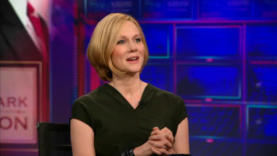 The Daily Show with Trevor Noah Season 18 :Episode 36  Laura Linney