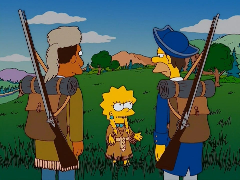 The Simpsons Season 15 :Episode 11  Margical History Tour