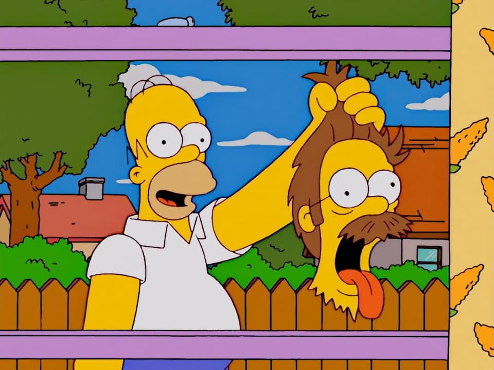 The Simpsons Season 14 :Episode 1  Treehouse of Horror XIII