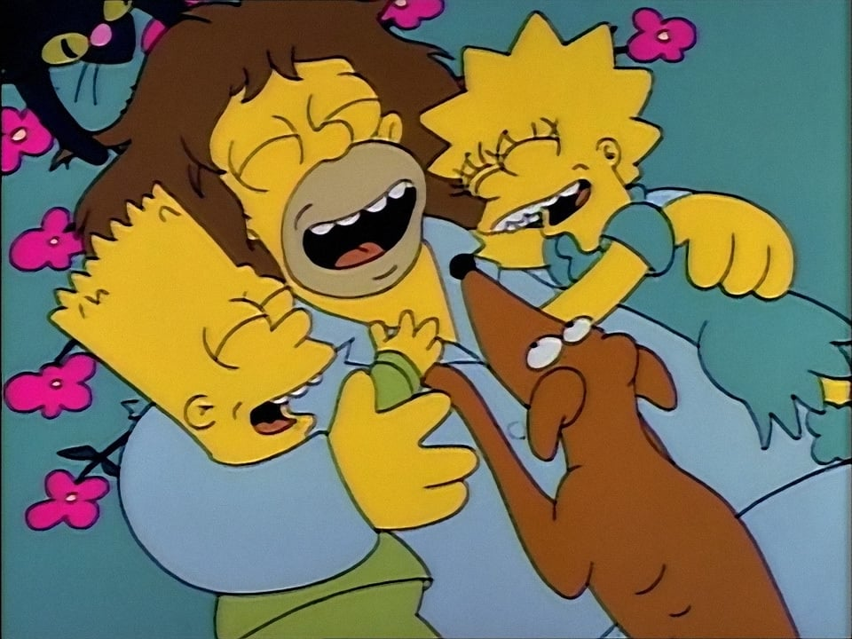 The Simpsons Season 2 :Episode 2  Simpson and Delilah