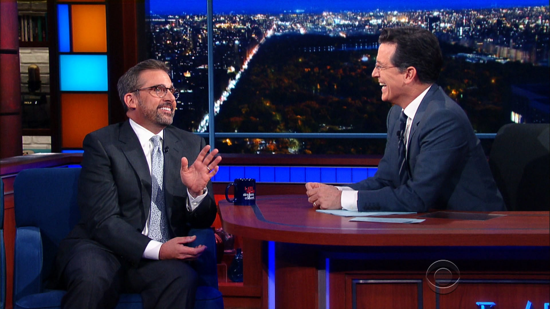 The Late Show with Stephen Colbert Season 1 :Episode 53  Steve Carell, Jennifer Hudson