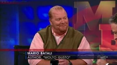 The Daily Show with Trevor Noah Season 15 :Episode 64 Mario Batali