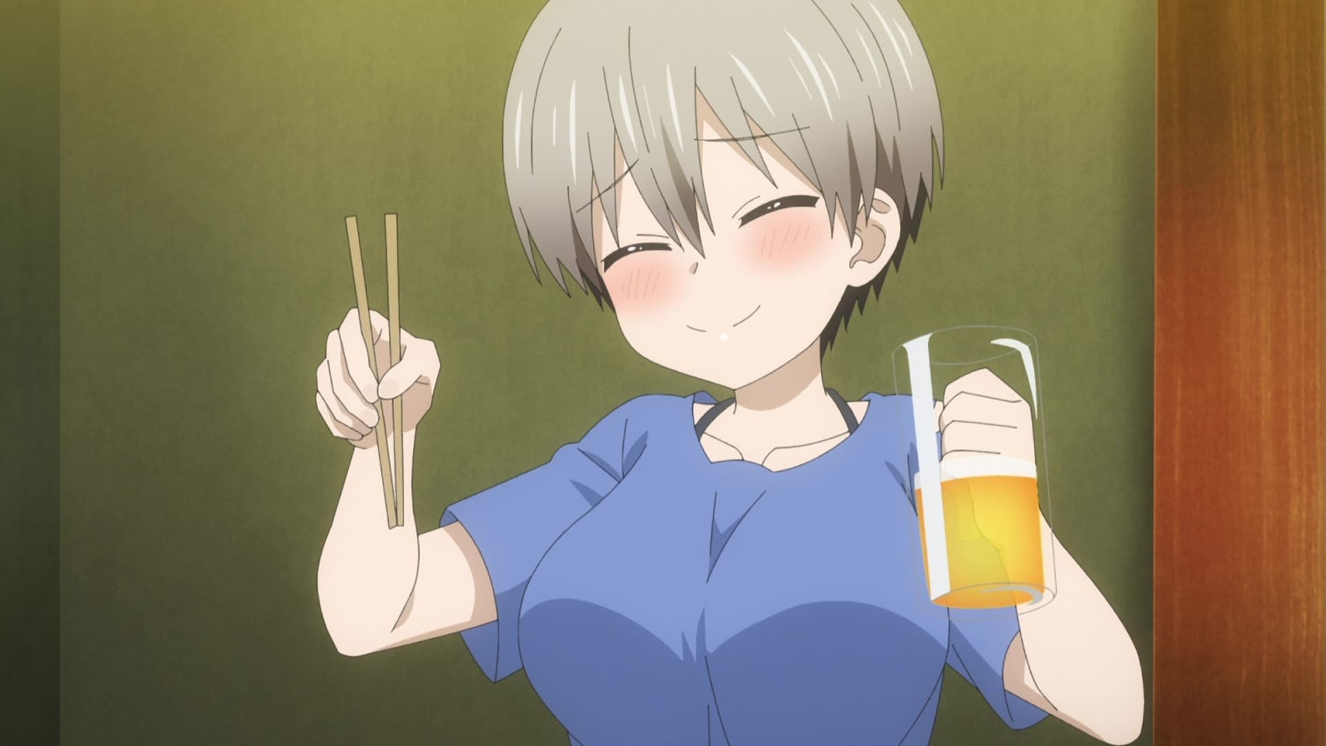 Uzaki-chan Wants to Hang Out! Season 1 :Episode 7  I Want to Hang Out at a Cat Café and a Pub!